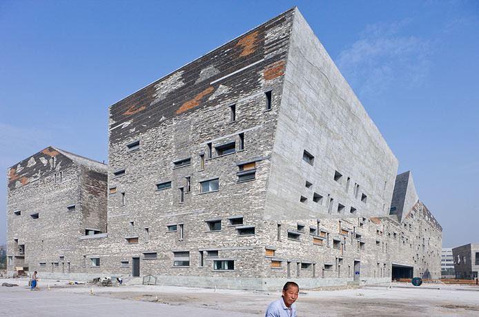 Ningbo Tarih Müzesi / Wang Shu
