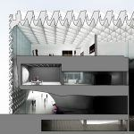 Broad Müzesi / Diller Scofidio + Renfro Kesit