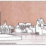 Küp Evler / Piet Blom eskiz