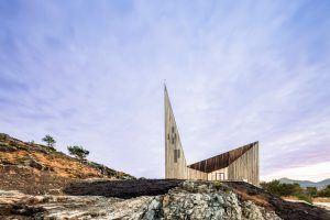 Knarvik Kilisesi - Reiulf Ramstad Arkitekter