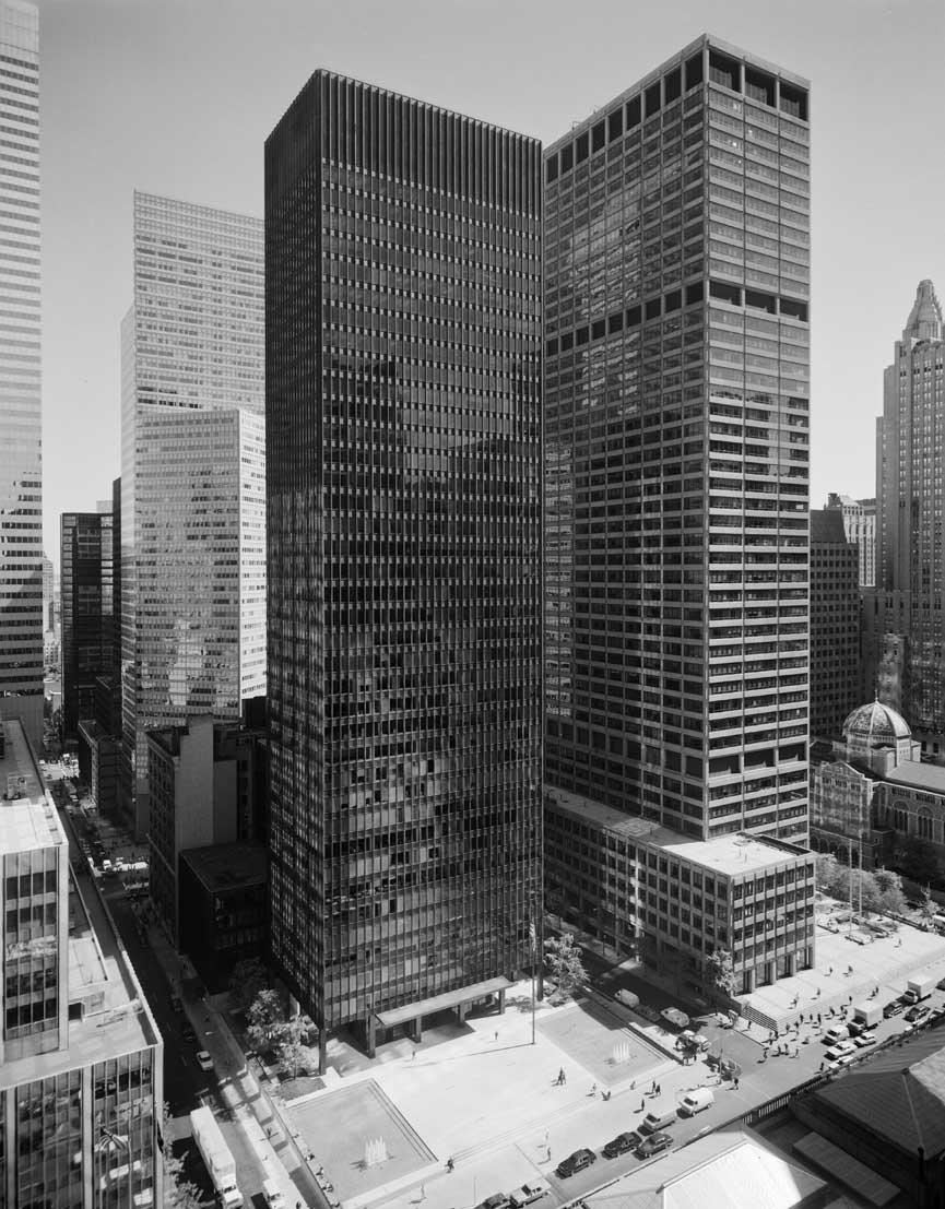 Seagram Binası - Ludwig Mies van der Rohe