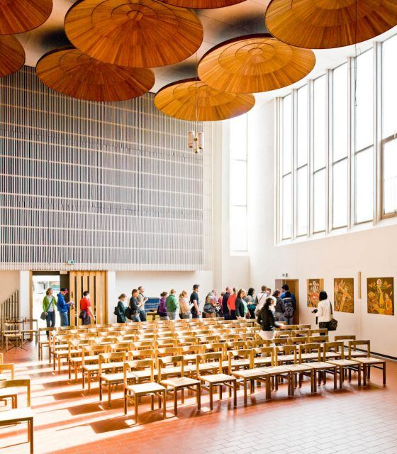 Stephanuskirche - Alvar Aalto