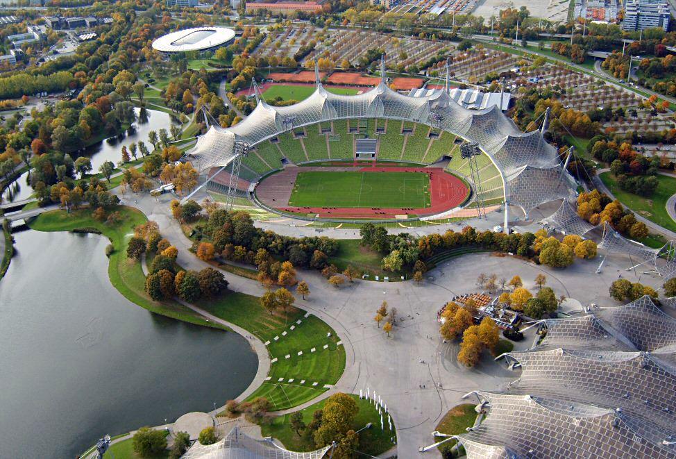 Münih Olimpiyat Stadyumu - Frei Otto