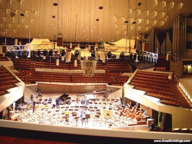 Berlin Filarmonik - Hans Scharoun