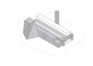 Tate Modern / Herzog & de Meuron Aksonometrik