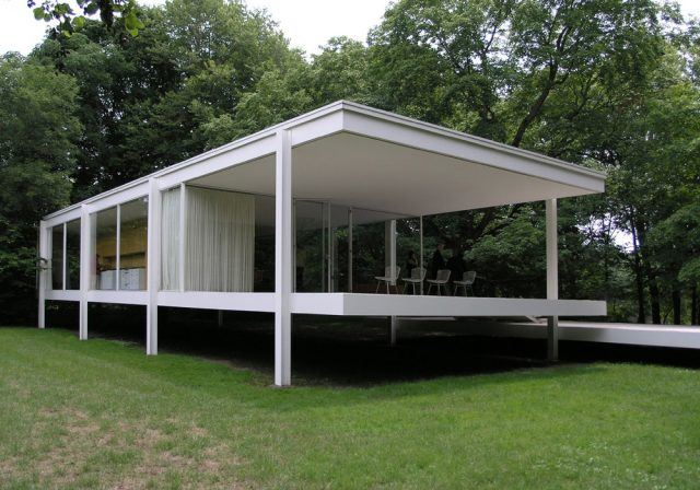 Farnsworth Evi / Mies Van der Rohe