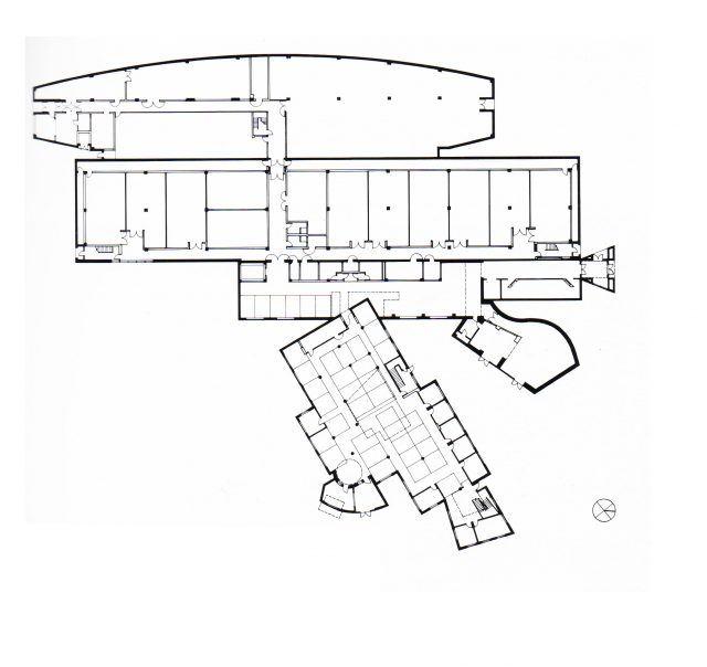 Iowa Yüksek Teknoloji Laboratuvarı - Frank Gehry plan