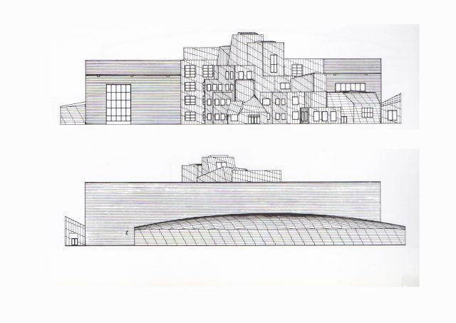 Iowa Yüksek Teknoloji Laboratuvarı - Frank Gehry görünüş