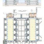 Salk Enstitüsü / Louis Kahn Plan ve Kesit