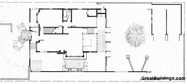 Gehry Evi (Gehry Residence) / Frank Gehry plan