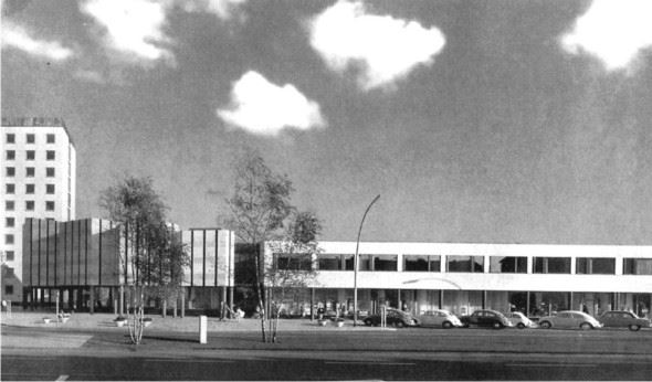 Wolfsburg Kültür Merkezi - Alvar Aalto