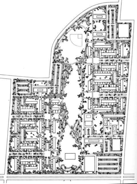 Lafayette Park - Mies van der Rohe