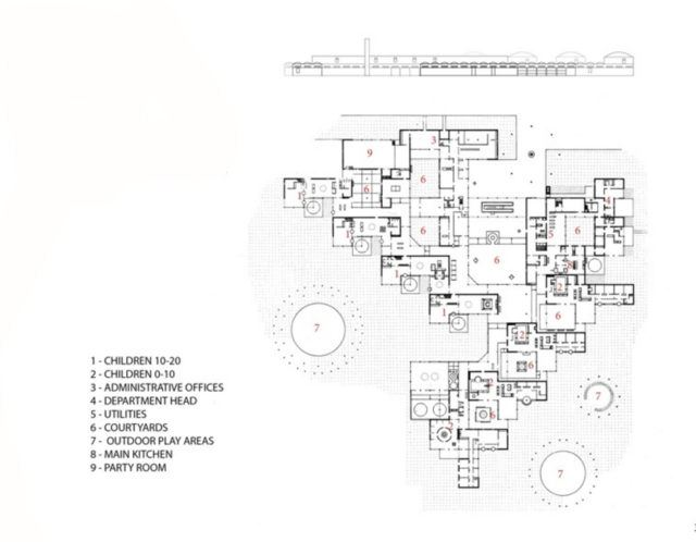 Amsterdam Yetimhanesi - Aldo van Eyck plan