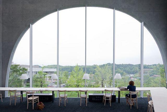 Tama Sanat Üniversitesi Kütüphanesi / Toyo Ito
