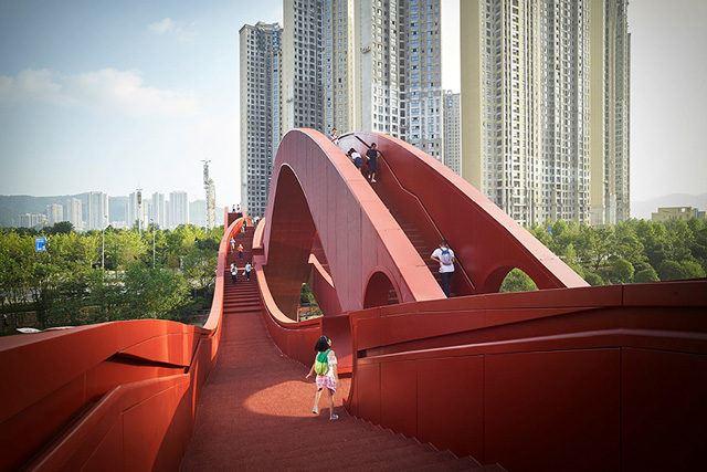 Lucky Knot Köprüsü / NEXT Architects