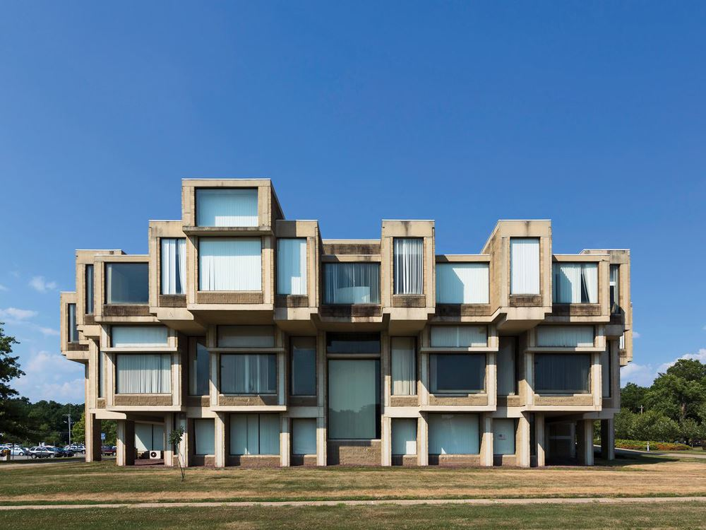 Orange County Hükümet Binası - Paul Rudolph