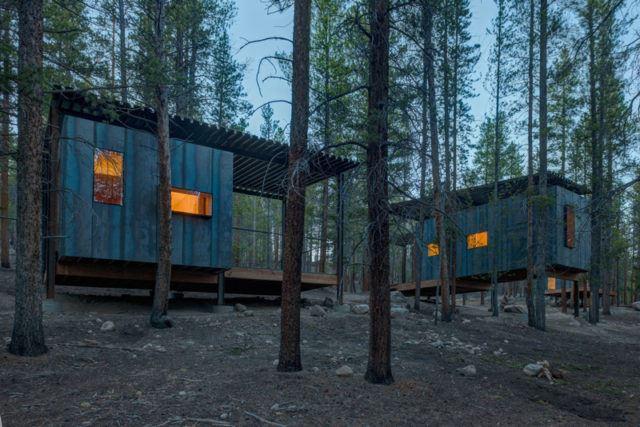 Colorado Outward Bound Micro Cabins - University of Colorado Denver