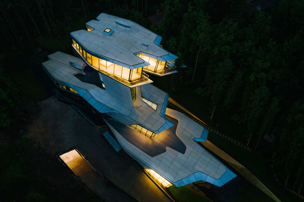 Capital Hill Residence - Zaha Hadid