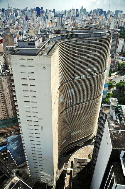 Copan Apartman Kompleksi - Oscar Niemeyer
