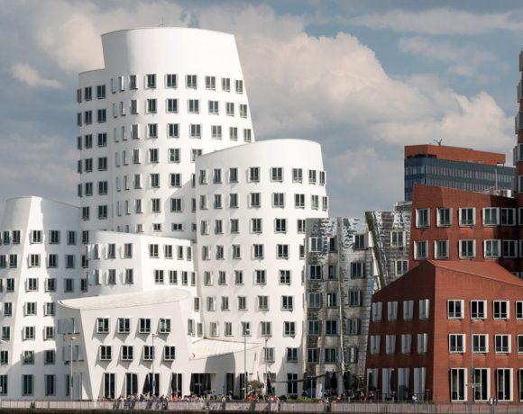 Der Neue Zollhof - Frank Gehry