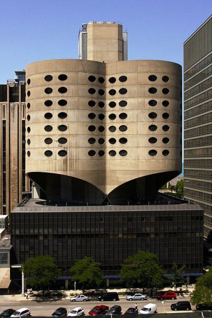 Prentice Kadın Hastanesi - Bertrand Goldberg