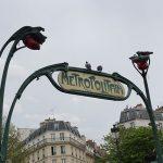 Paris Metro Girişleri - Anvers