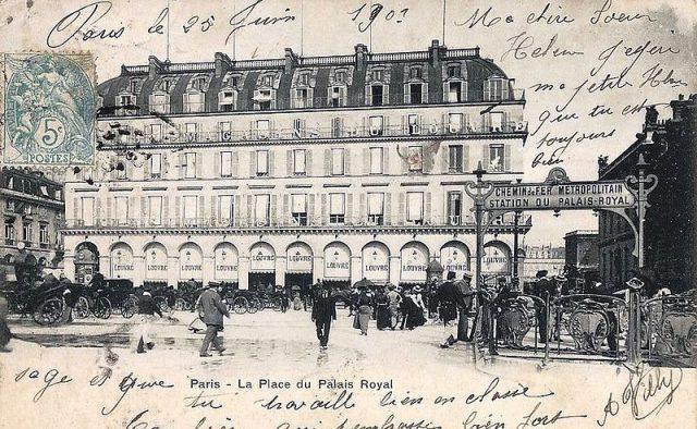 Palais Royal istasyonu - 1903