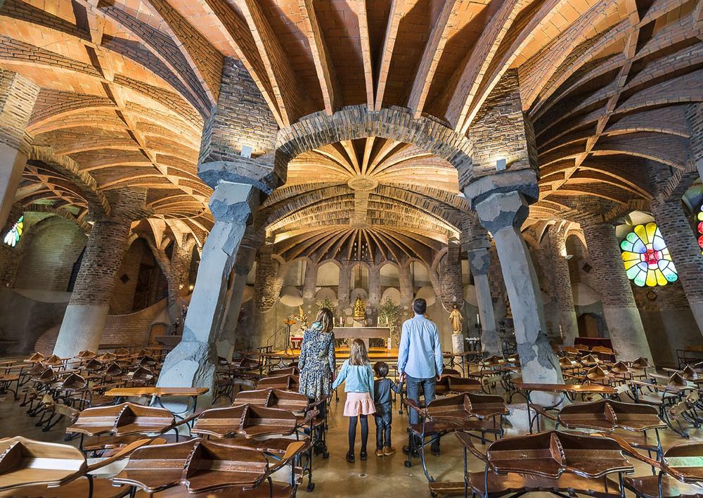 Colonia Guell -Antoni Gaudi