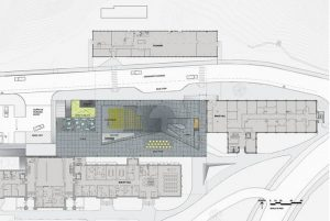 Millstein Hall - Cornell Üniversitesi plan