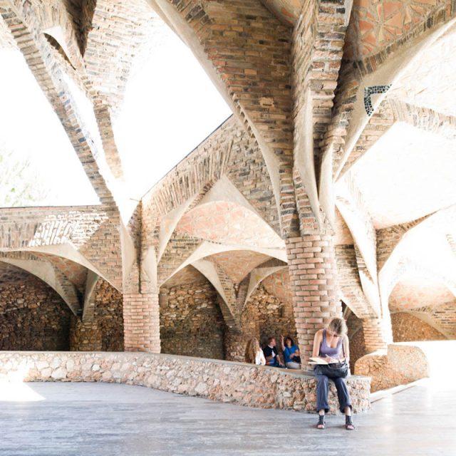 Colonia Güell - Antoni Gaudi