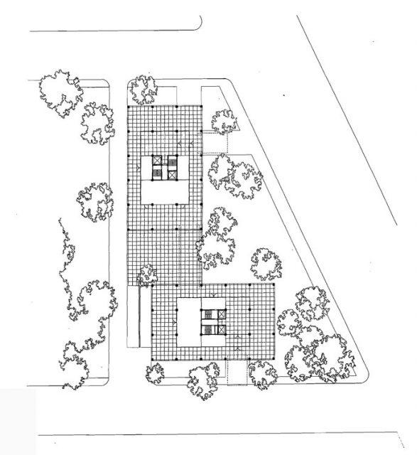 860-880 Lake Shore Drive - Ludwig Mies van der Rohe vaziyet planı