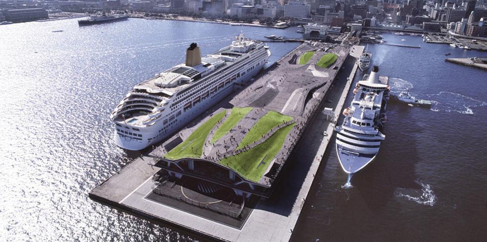 Yokohama Uluslararası Yolcu Terminali - FOA