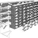 Drivelines Stüdyoları - LOT-EK izometrik