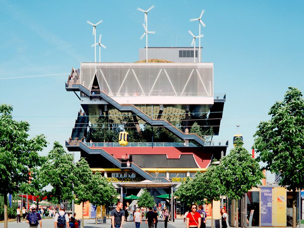 Expo 2000 Hollanda Pavyonu - MVRDV