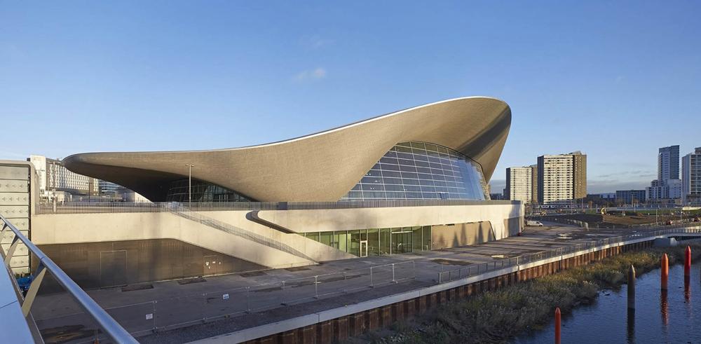 Londra Su Sporları Merkezi - Zaha Hadid