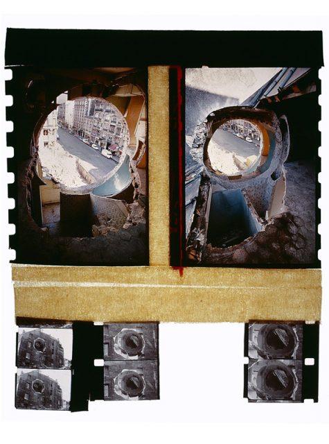 Gordon Matta-Clark conical intersect