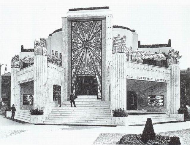 Art Deco Galeries Lafayette's La Maitrise Pavilion, Paris