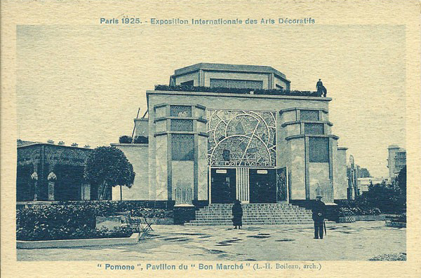 Art Deco The Pomone Atelier Pavilion of Le Bon Marche, Louis Boileau