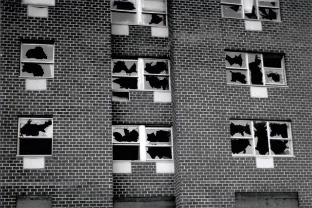 Gordon Matta-Clark window blowout