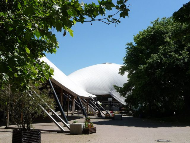 Mannheim Multihalle - Frei Otto