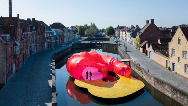 Trienniale Bruges Pavilion / SelgasCano