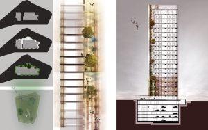 Maslak No. 1 - Emre Arolat Architects kesit