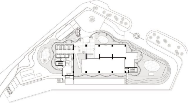 Maslak No. 1 - Emre Arolat Architects plan