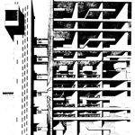 Trellick Kulesi - Ernö Goldfinger kesit