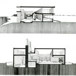 Milam Rezidansı - Paul Rudolph kesit
