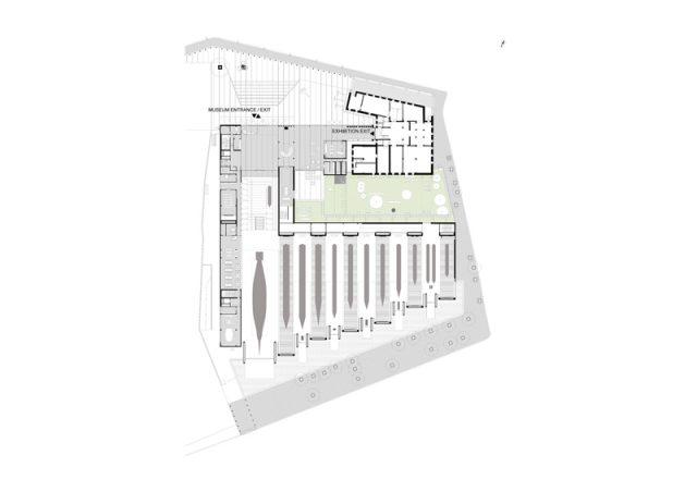 İstanbul Deniz Müzesi / Teğet Mimarlık plan