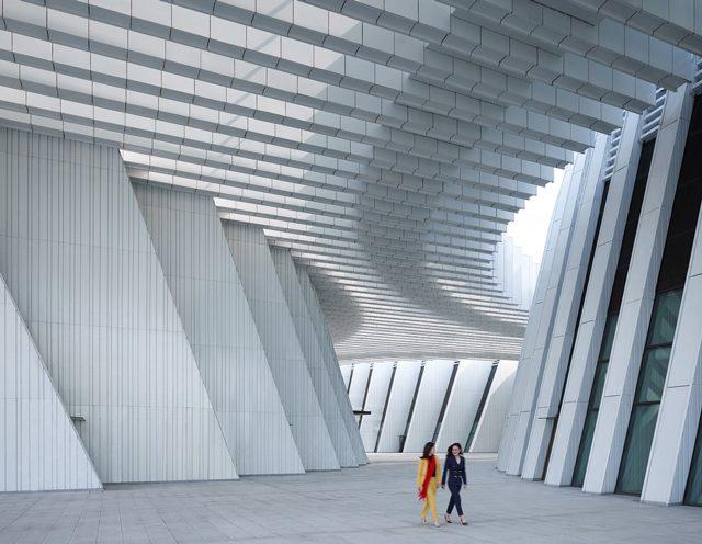 Guangxi Kültür ve Sanat Merkezi / gmp Architekten