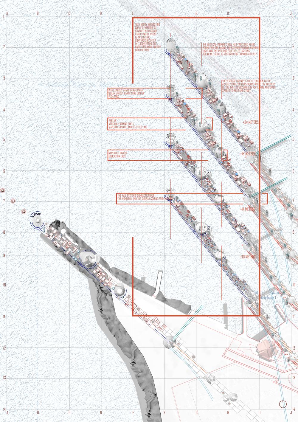 Eco-XX / Gamze Kaya Aksonometrik Kat Planları