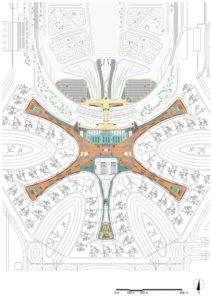 Pekin Daxing Uluslararası Havalimanı (Beijing Daxing International Airport) / Zaha Hadid Architects plan