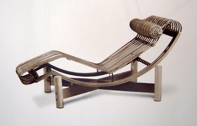 Bamboo Lounge Chair / Charlotte Perriand